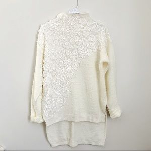 Simply Couture Mock neck hi-low Sweater